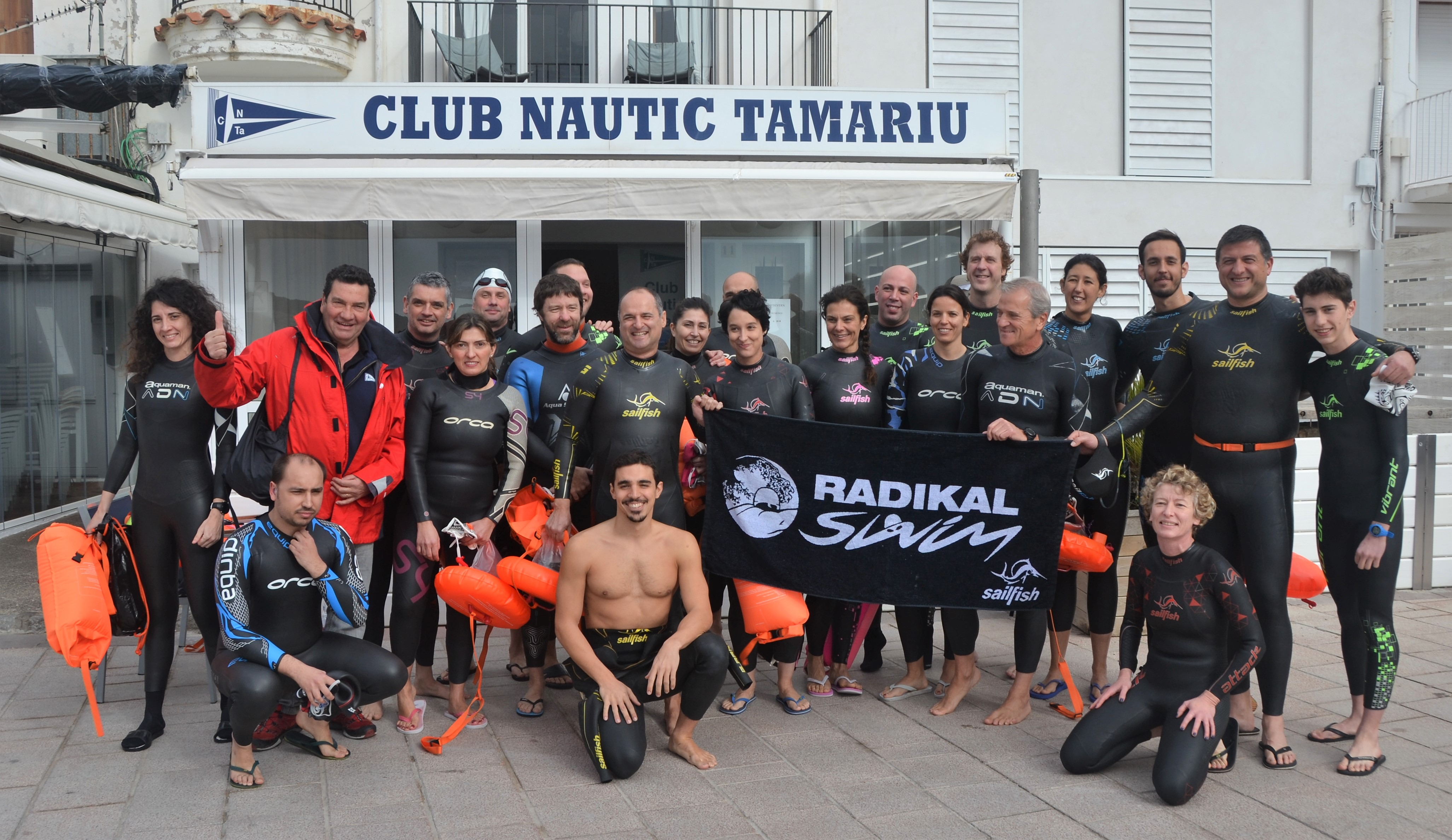 ¡Un gran Saturday Workout en Tamariu!